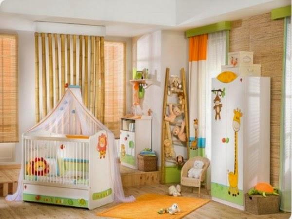 Cuarto bebé tema jungla