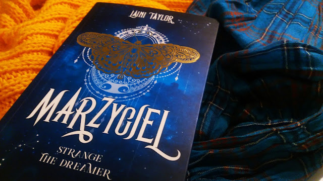 strange the dreamer, marzyciel, laini taylor, lazlo strange, wydawnictwo sqn