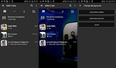 BBM MOD Dark Grey Base 3.0.1.25 [Change Background] Tanpa Crop