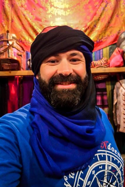 disfrazado de touareg