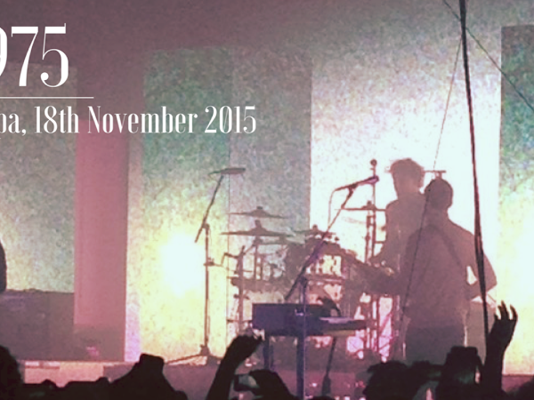 LIVE REVIEW: THE 1975 @ BRIDLINGTON SPA, 18TH NOVEMBER 2015