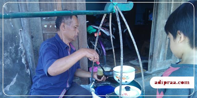 Menikmati Dawet Ayu di Pasar Tradisional | adipraa.com
