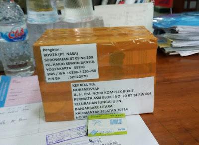 bukti Kiriman rositashop online shop 8