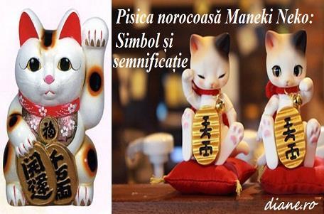 Pisica norocoasă Maneki Neko