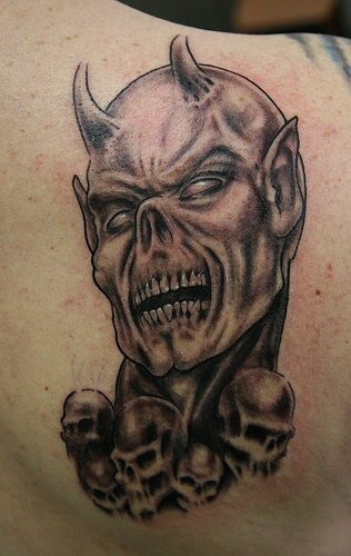 Demon Tattoos: FREE TATTOO PICTURES: Demon Tattoos, Designs, Pictures
