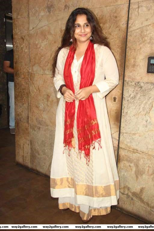 Vidya Balan graced the special screening of Fitoor
