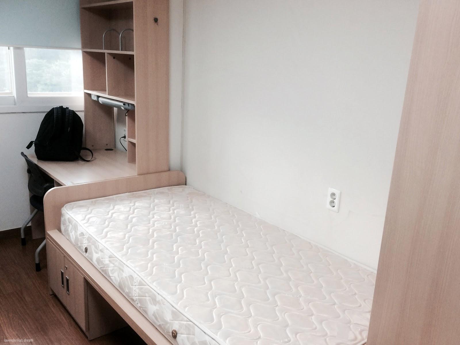 South Korea, Seoul Sinchon, Yonsei University, YISS 2014, SK Global House double dorm room