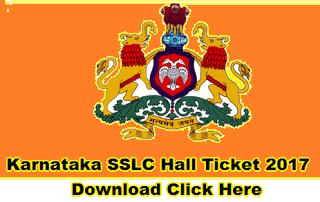 karnataka 10th hall tickets 2017 schools9