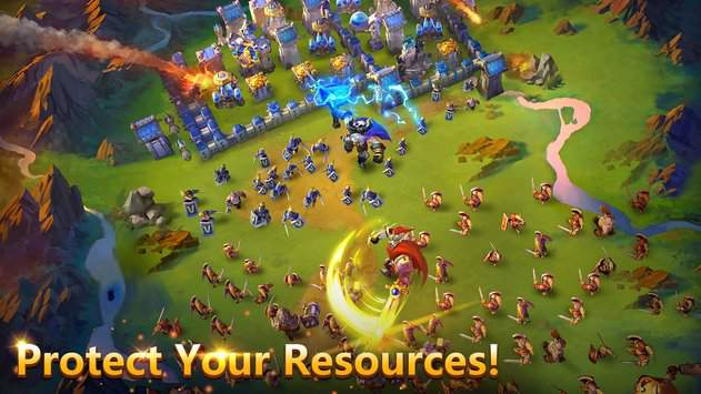 castle clash game for android