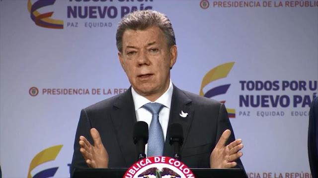 Santos llevará nuevo acuerdo con FARC al Congreso