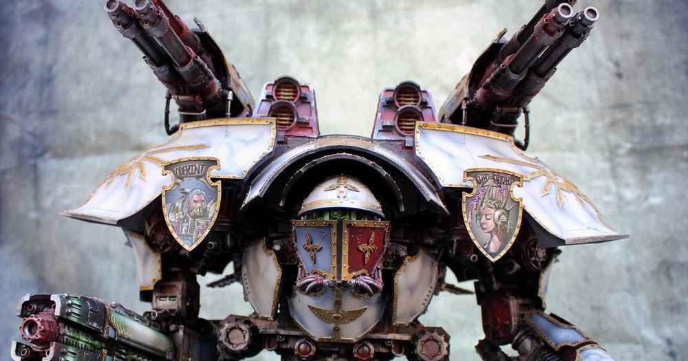 Win A Warlord Titan Faeit 212 Warhammer 40k News And