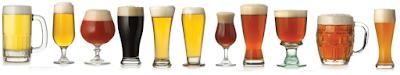Cada cerveza tiene su vaso