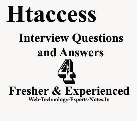Htaccess interview Questions and Answers for fresher and