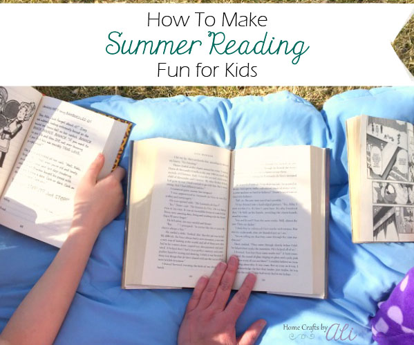 make summer reading fun for kids