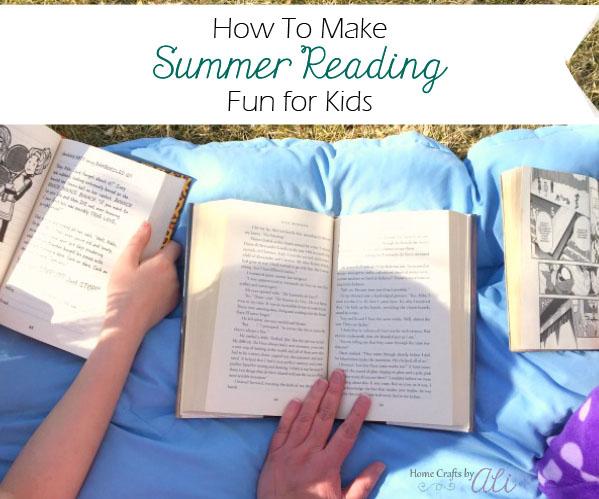 make summer reading fun for kids