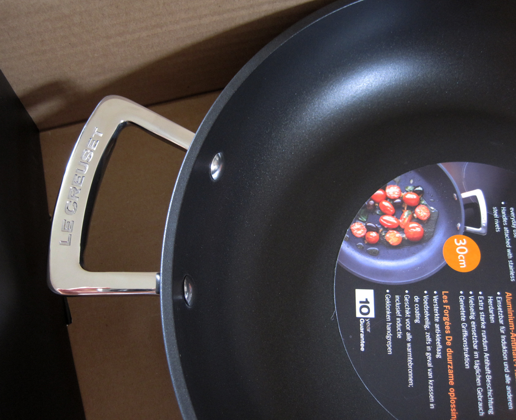 Le Creuset frying pan