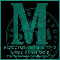 #atozchallenge alphabet M