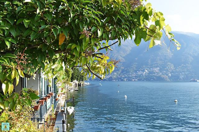 Carate Urio en Lago di Como, Italia