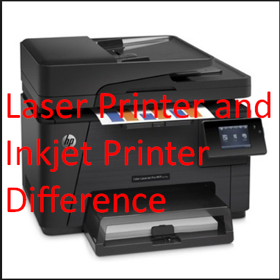 Laser Printer and Inkjet Printer Difference