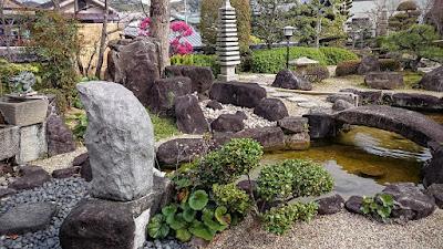 星田寺の庭園