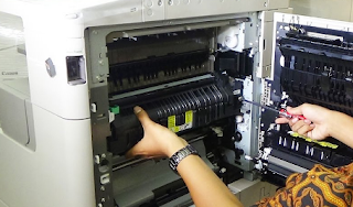 Cara Mengatasi Hasil Fotocopy Bergelombang di Canon IR 3300 Series