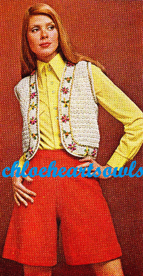 The Vintage Pattern Files: Free 1970's Crochet Pattern - Gypsy Bolero