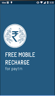 Free Mobile Recharge for paytm