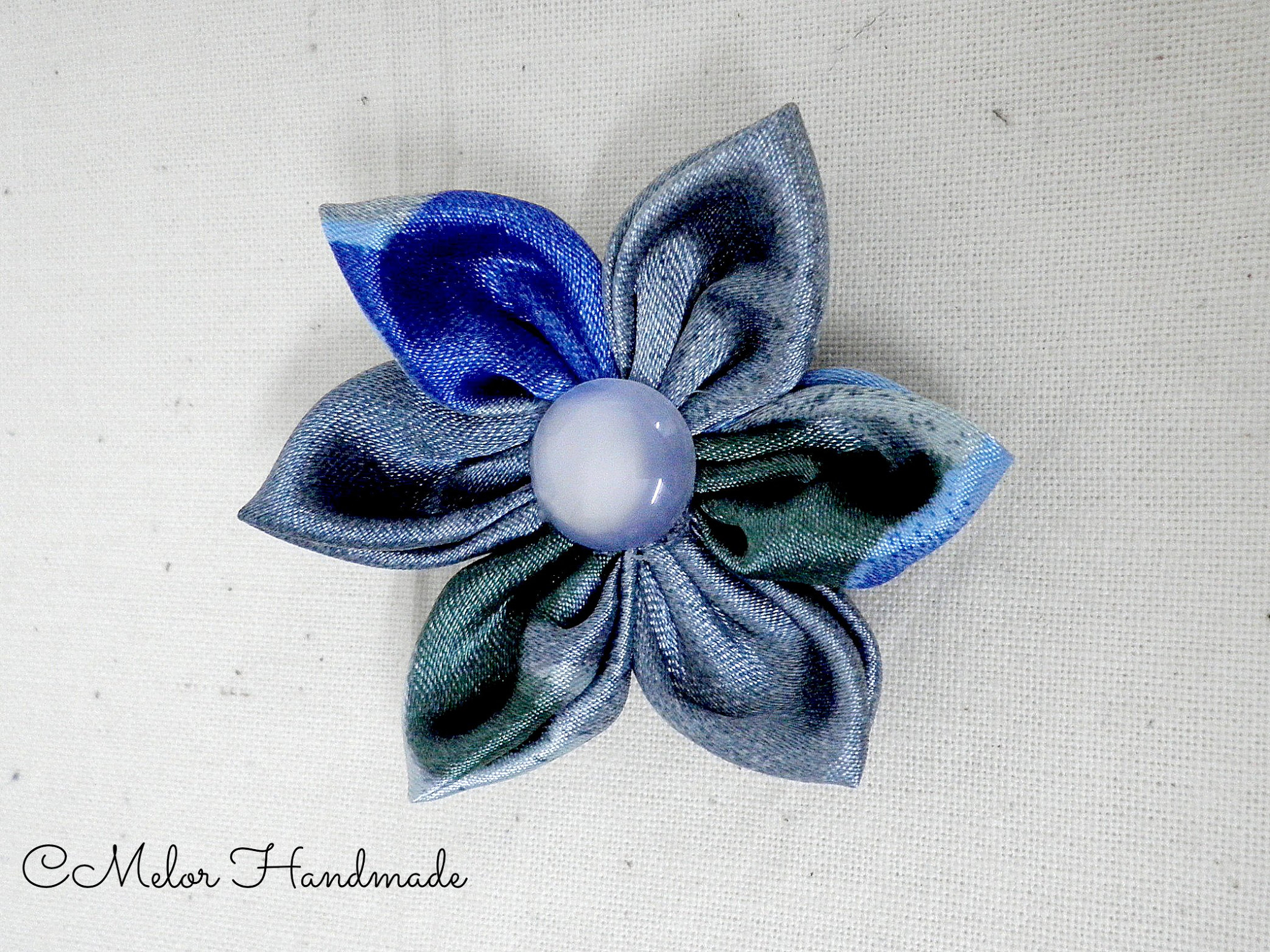 handmade fabric brooch