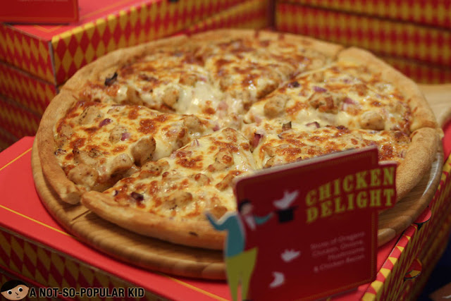 Chicken Delight of Pezzo Pizza