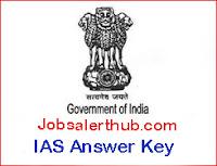 IAS Answer Key