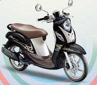 Yamaha Fino 125 Blue Core Hitam