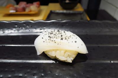Ryo Sushi, ika black salt
