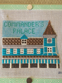 needlepoint commander's palace