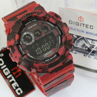 Digitec warna merah