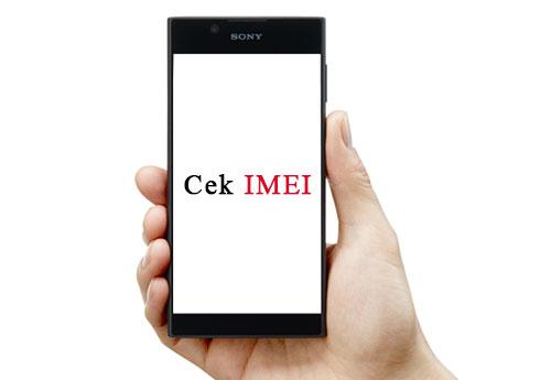 Cara Cek Kode IMEI HP Sony Xperia Asli