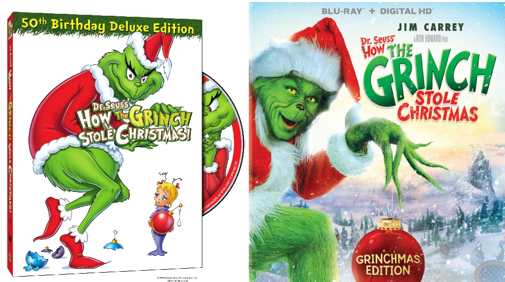 How The Grinch Stole Christmas Blu Ray.Dr Seuss How The Grinch Stole Christmas Blu Ray 50th