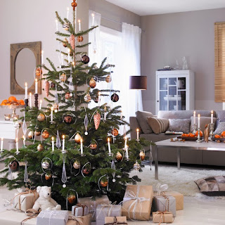 decoración de sala en navidad