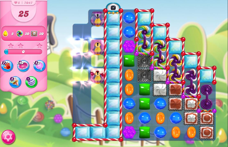 Candy Crush Saga level 7047
