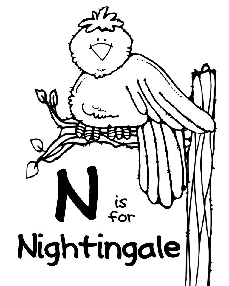 We Love Being Moms!: Letter N (Nightingale)