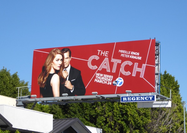 The Catch series premiere billboard
