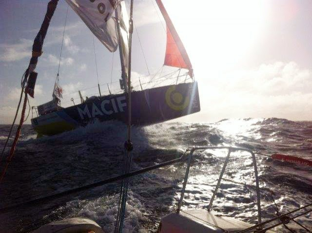 "CORENTIN HOREAU : ""ATTENTION, DÉCOLLAGE POUR SKIPPER MACIF 2012 !!!!"""