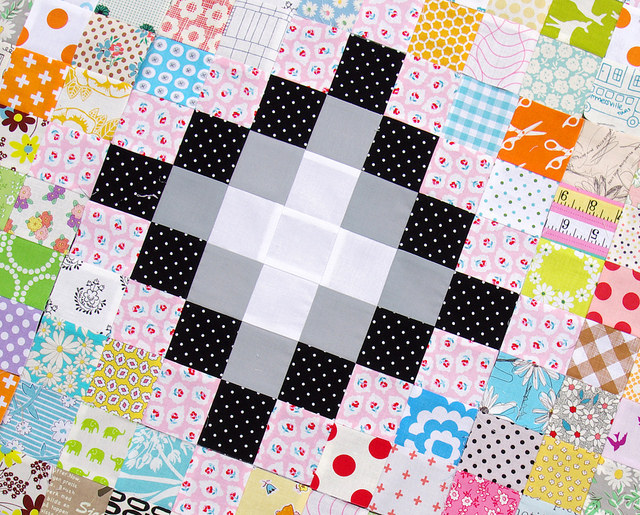 Irish Chain Scrap Buster Quilts - work in progress | Red Pepper Quilts 2015