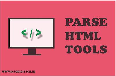 Tutorial Cara Mudah Membuat Parse Code HTML 2019