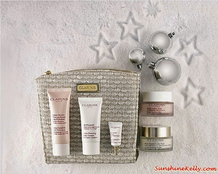 Clarins Extra-Firming Duo Set, Clarins Christmas set, Clarins gift set, Clarins, Clarins malaysia, Gift Sets, Christmas Gift,