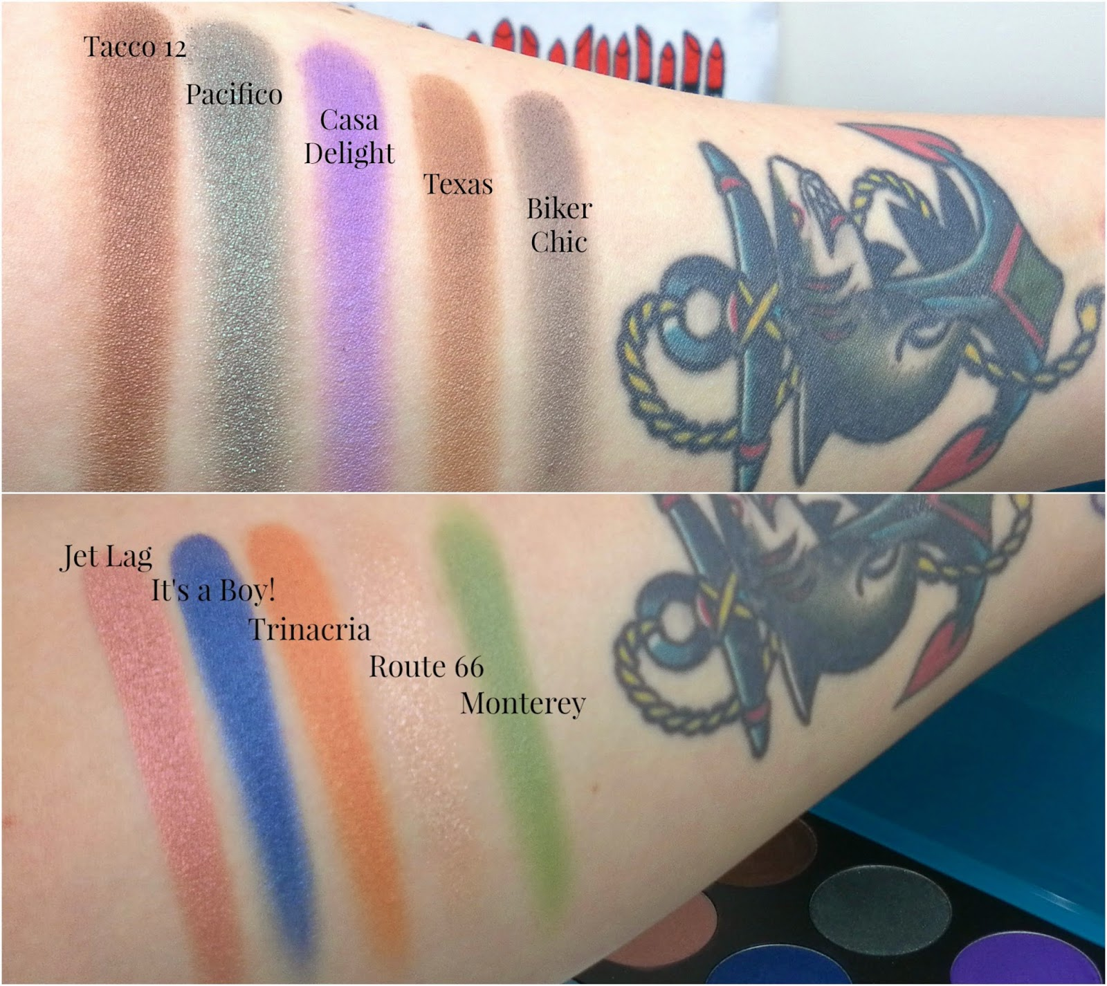 Neve Makeup Delight Swatches