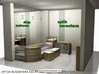 Interior Set Eyewear Display Showcase - Interior Toko