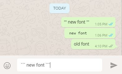 whatsapp-introduces-new-font