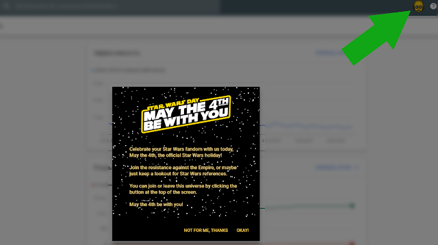 Google Search Console Star Wars Star Wars Day