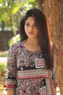 Actress Sunaina Latest Stills in Floral Dress at Pelliki Mundu Prema Katha Trailer Launch  0030.JPG