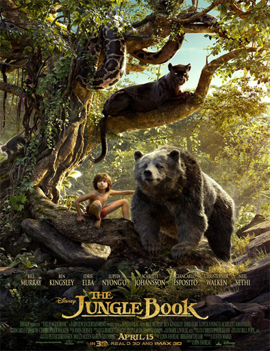 Ver El libro de la selva (The Jungle Book) (2016) Online